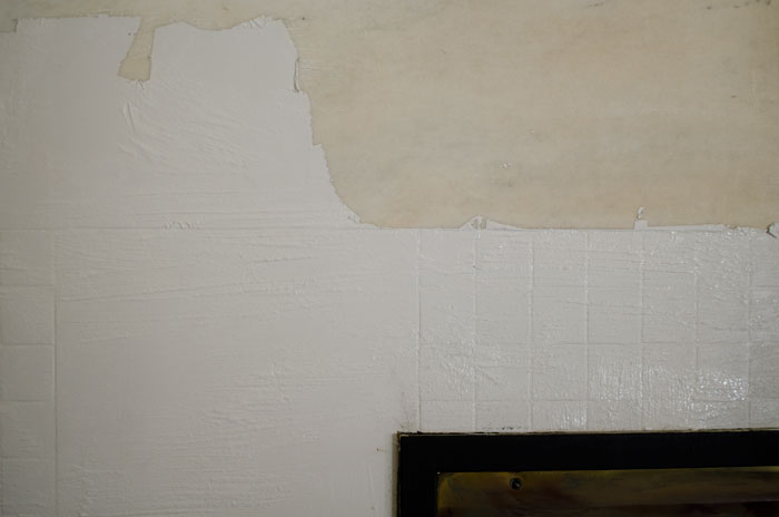 In About 15 20 Minutes The Paint Was Ready To Come Off We Used Plastic Sers Be Sure Not Scratch Marble