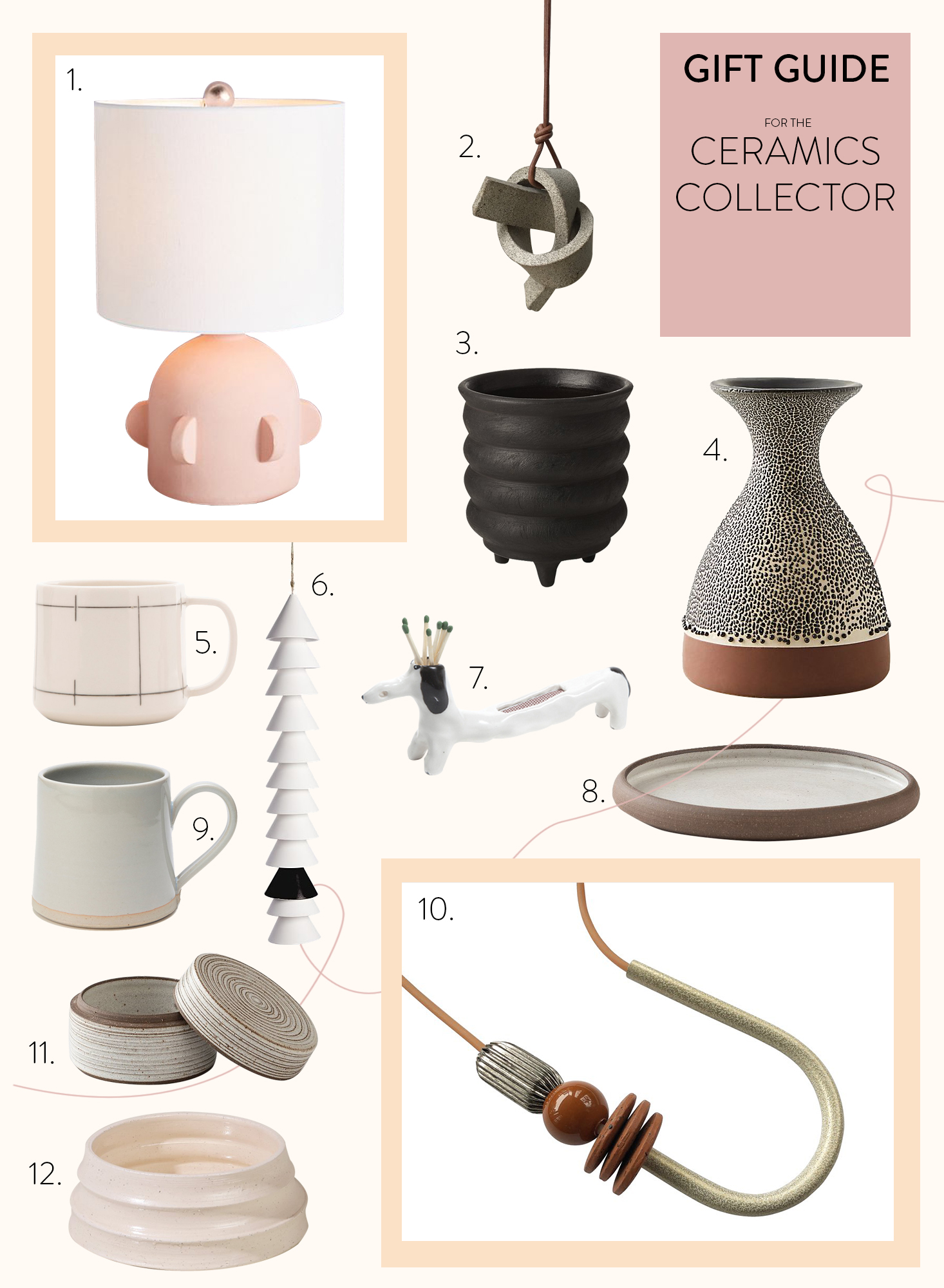 Gift Guide For the Ceramics Collector
