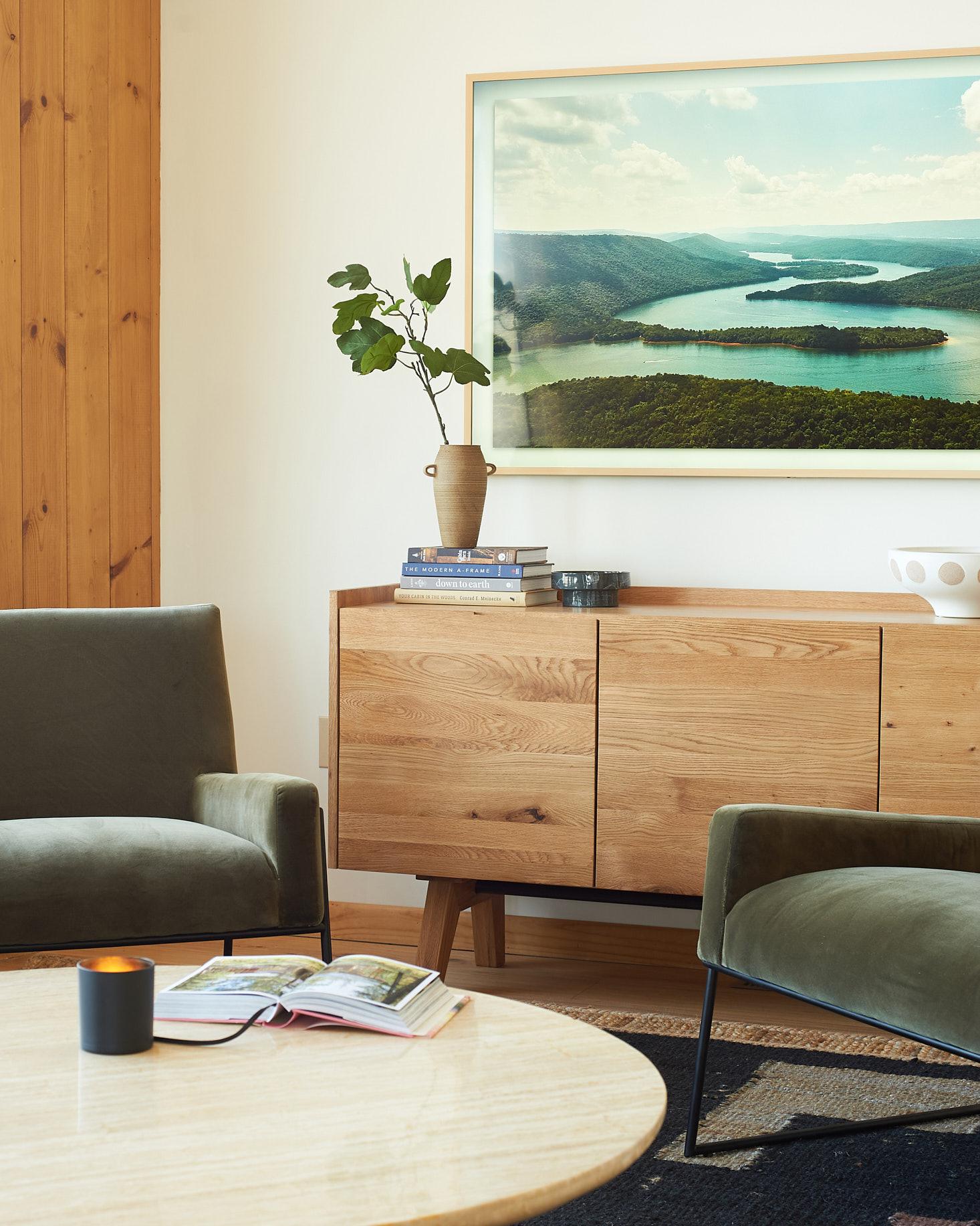 Article madera sideboard detail