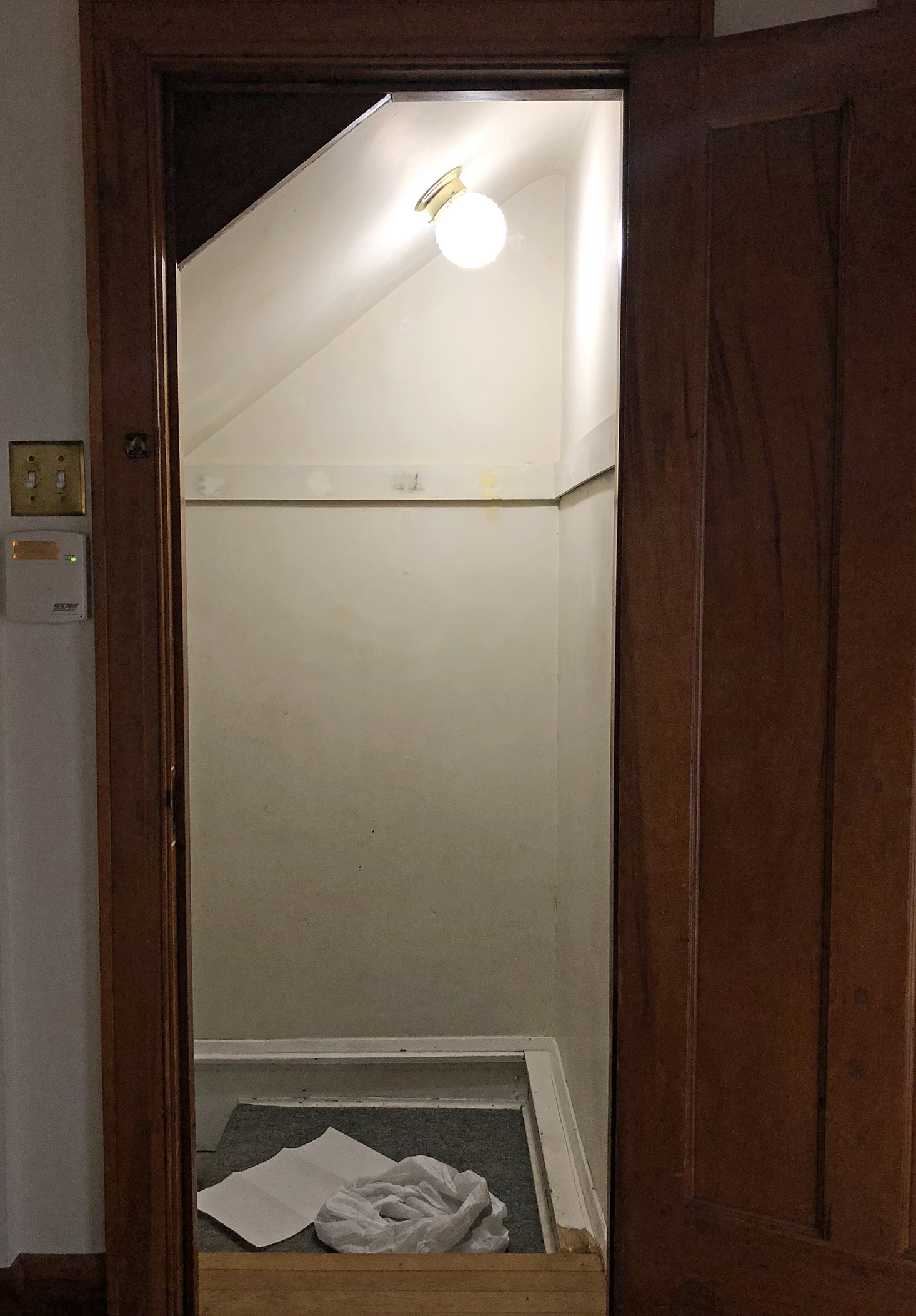 Basement Stairway Project Before