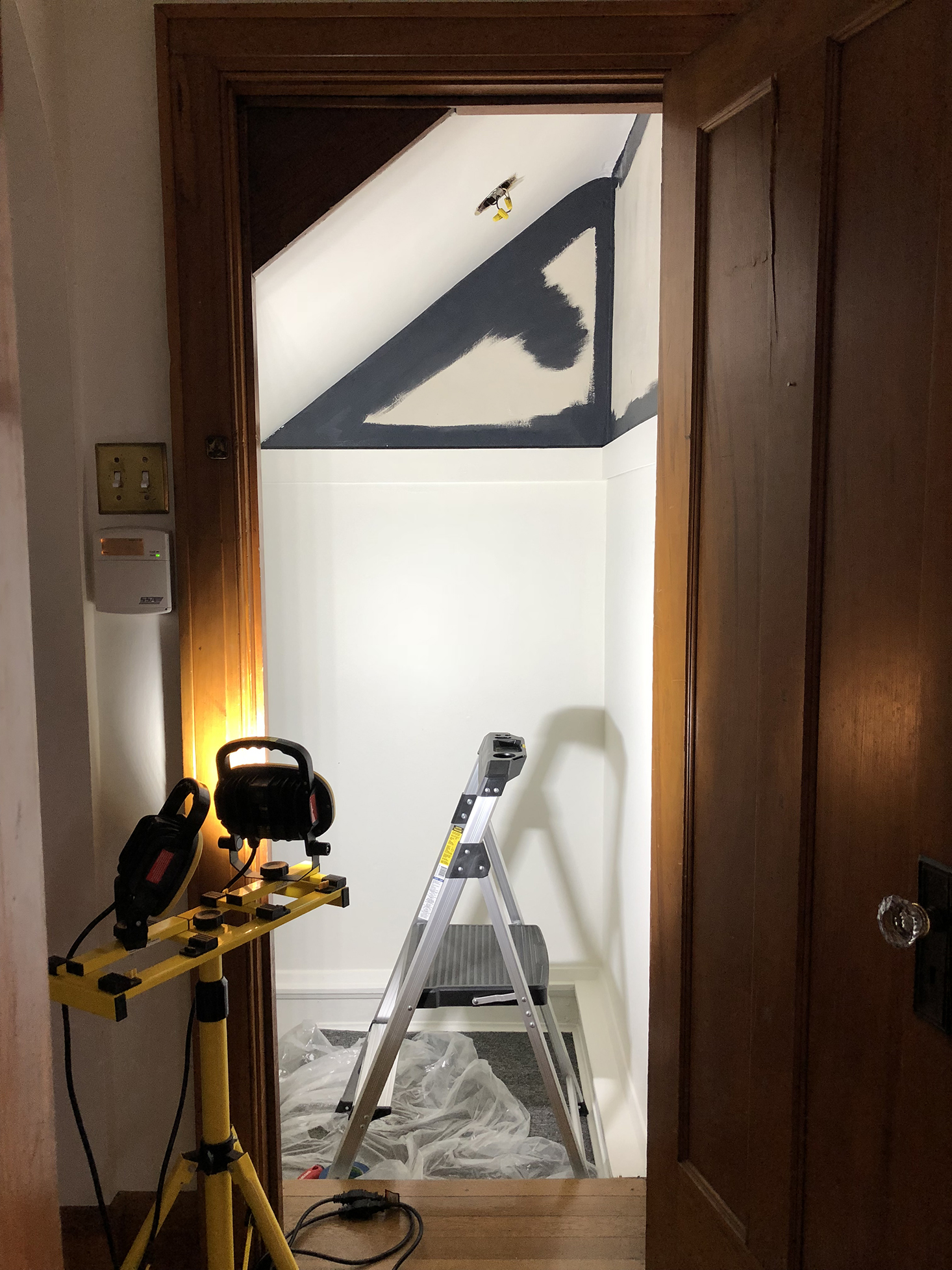 Basement Stairway Project - Process
