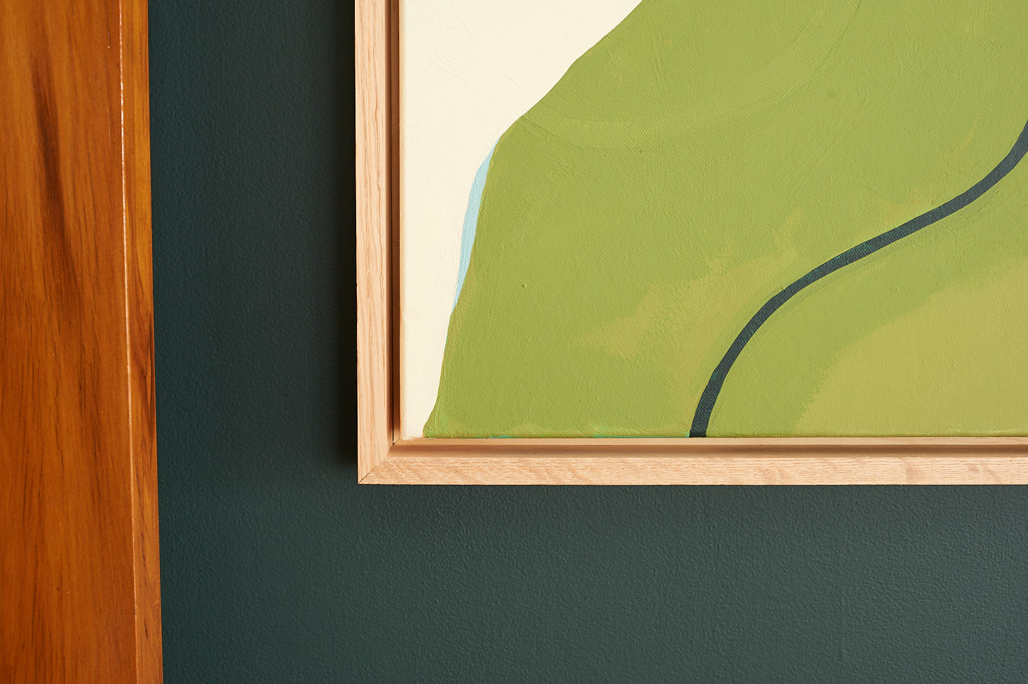Oak Canvas Frame