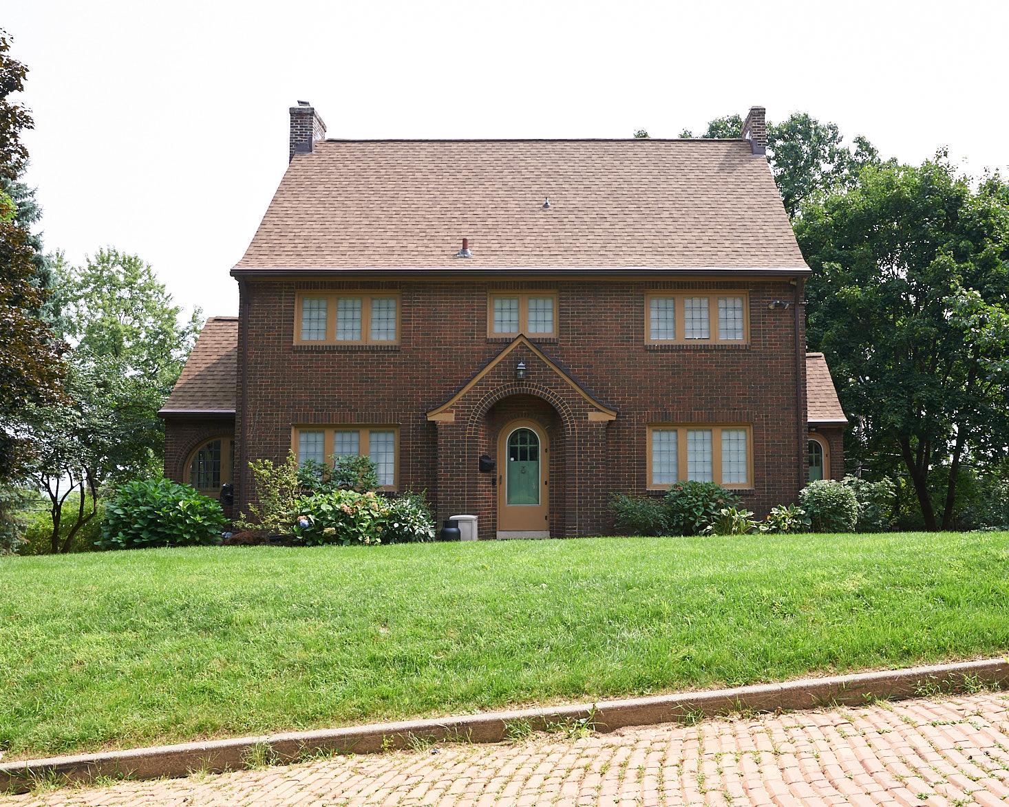 brick tudor exterior 1929