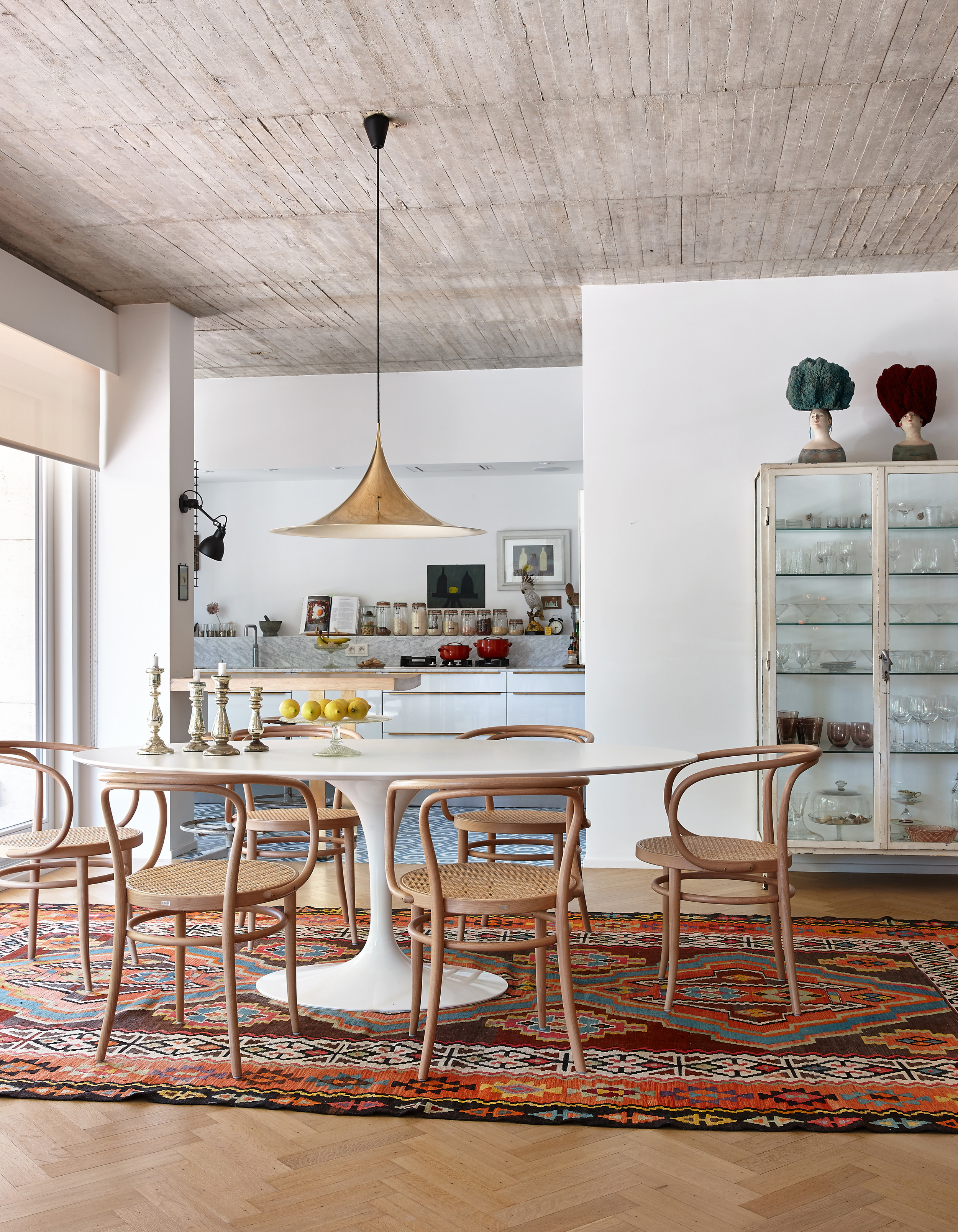 Kim Verbist Interiors Dining Room