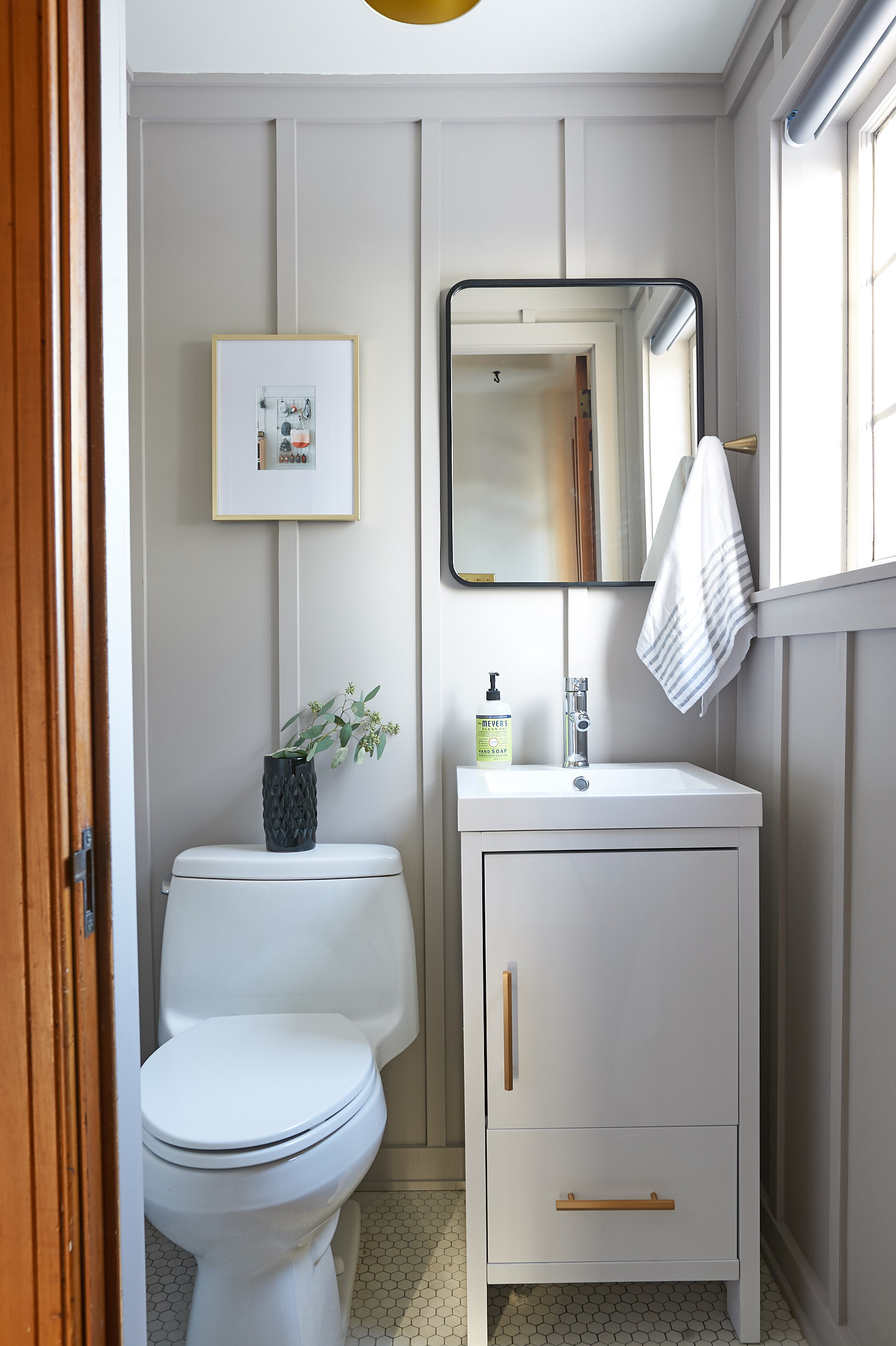 Powder Room - After | The Sweet Beast Blog