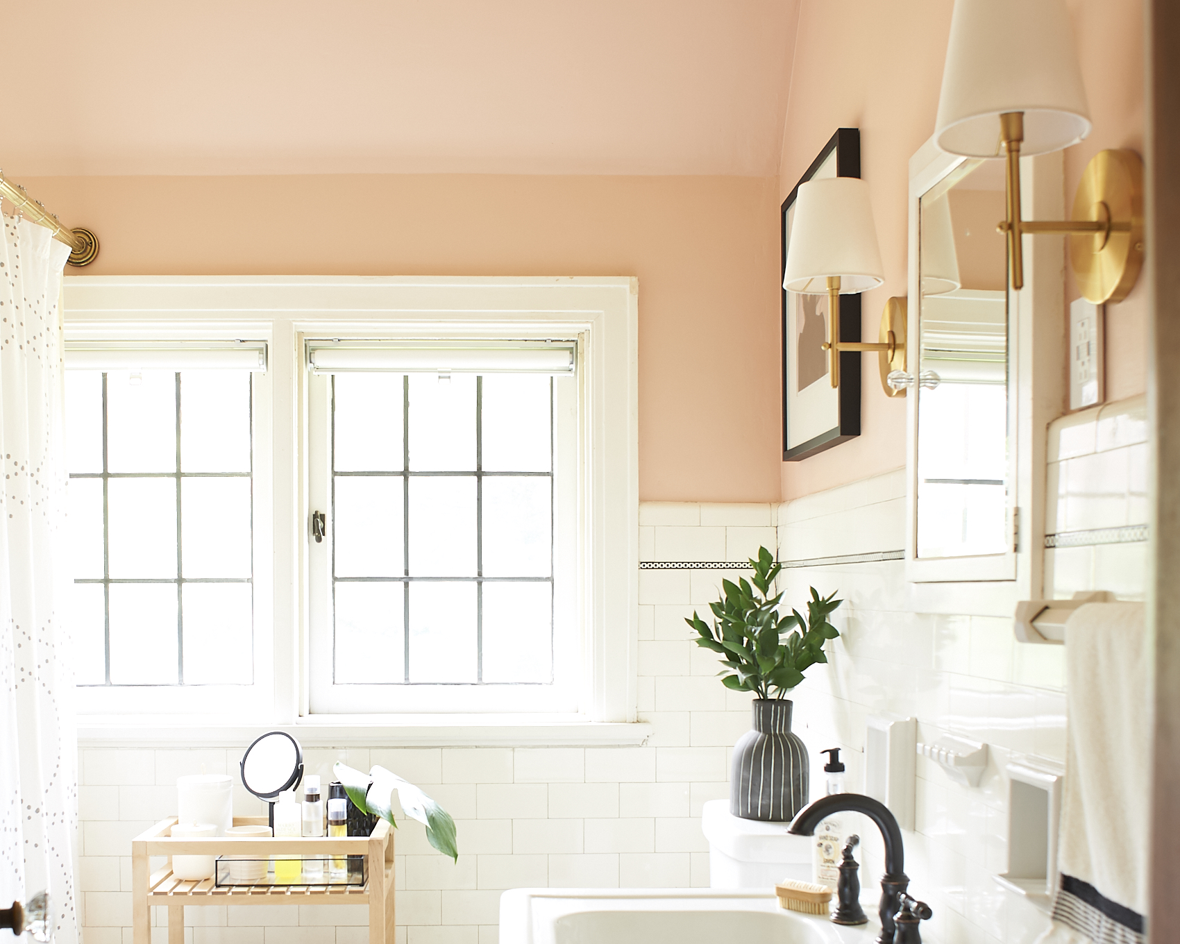 Classic Blush Bathroom