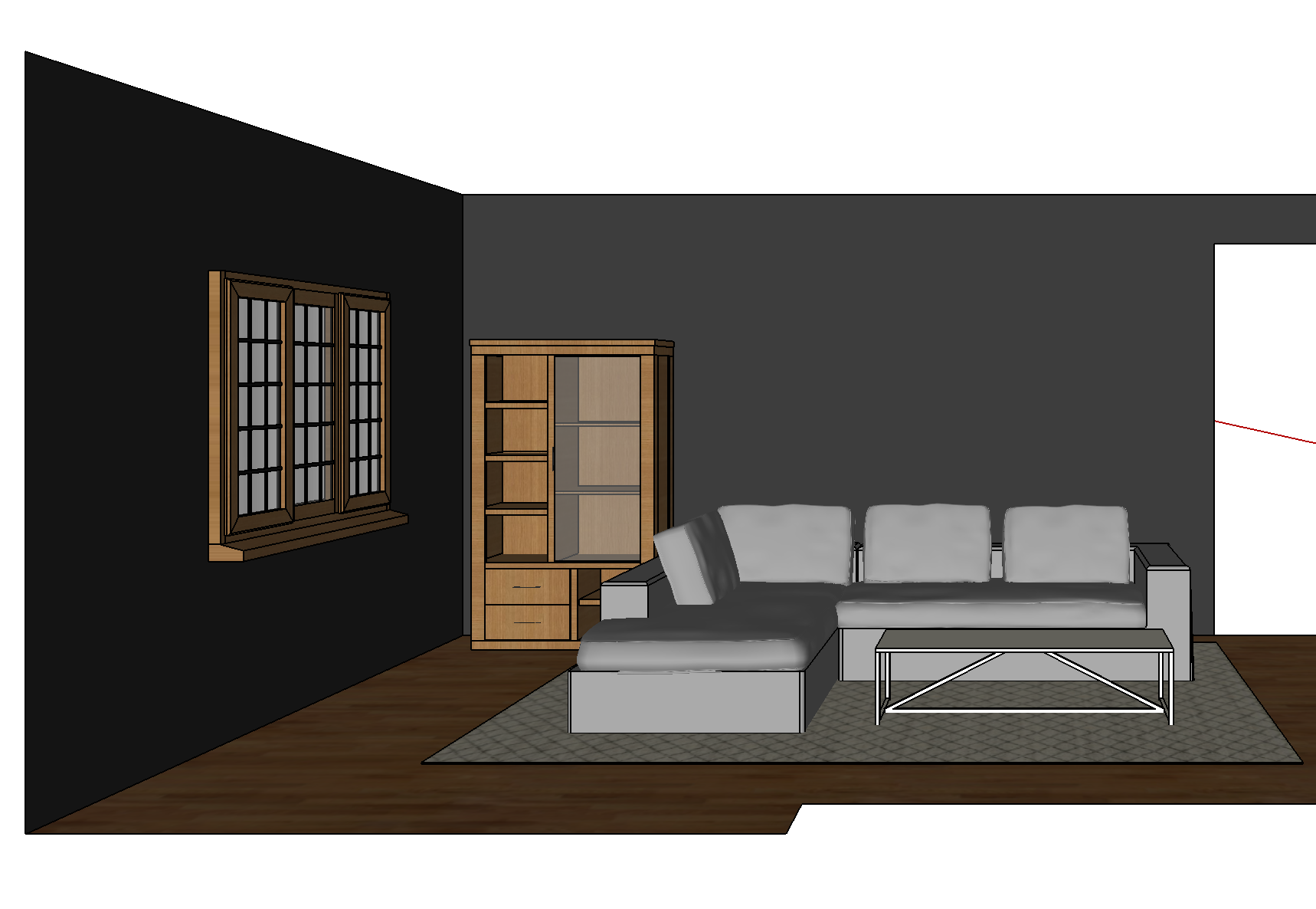SketchUp Living Room