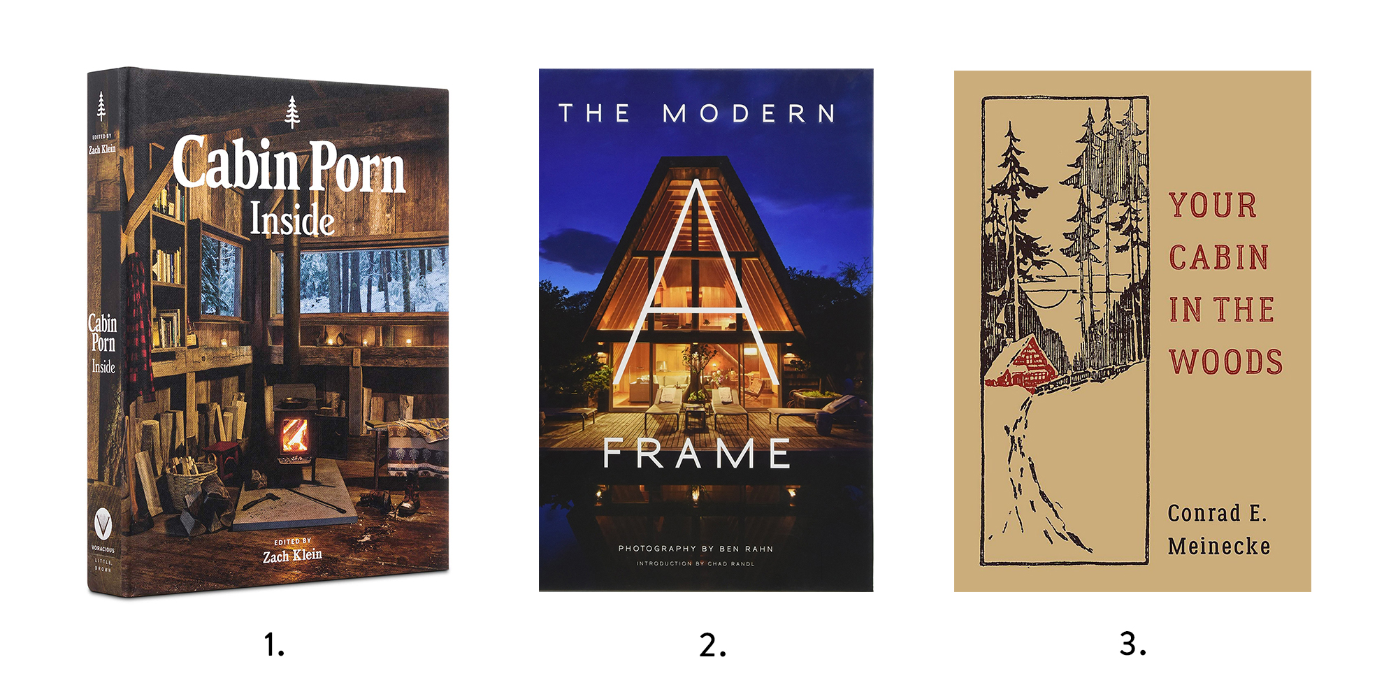 Cabin Inspiration Books