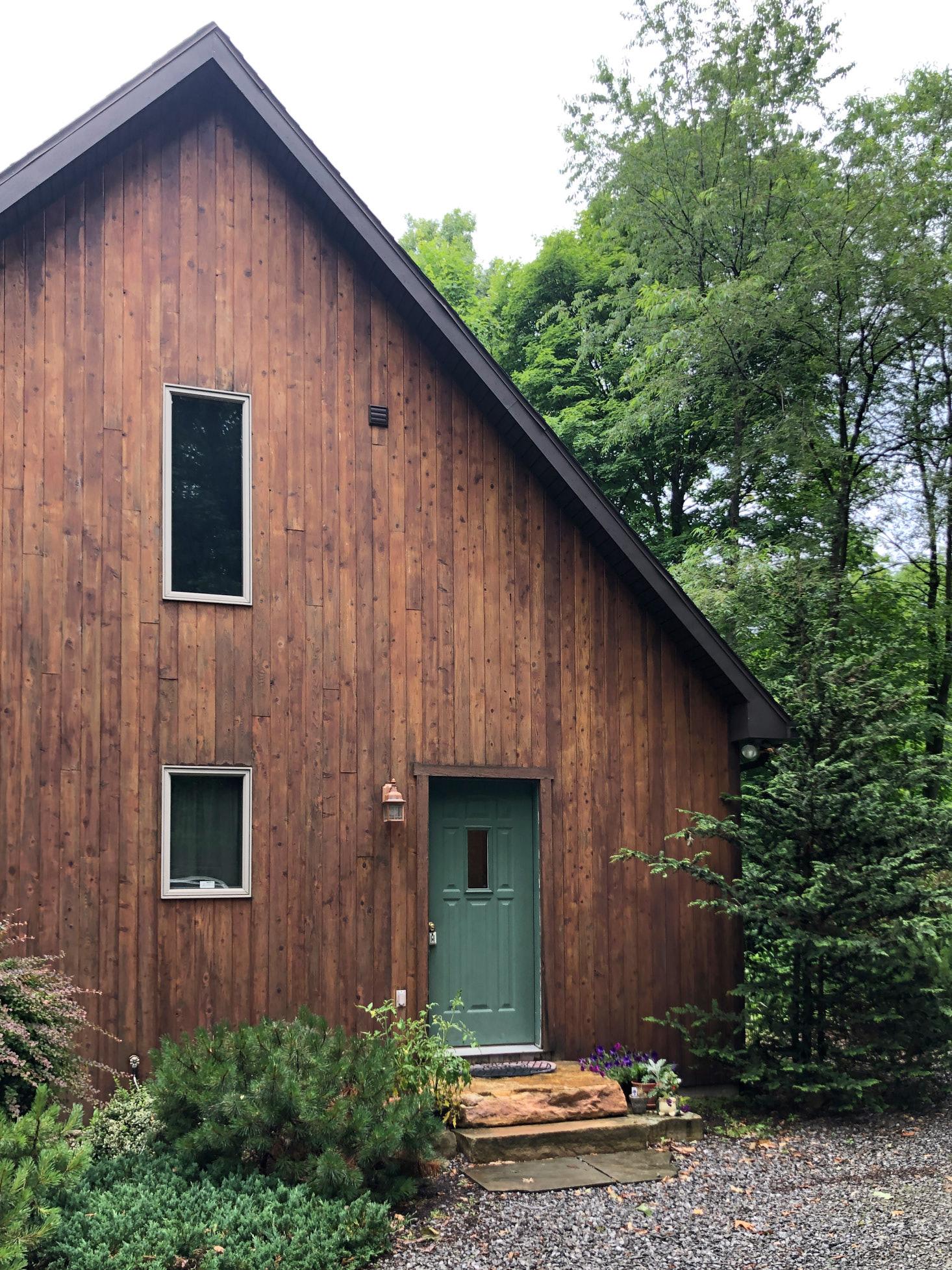 Cedar Home Exterior